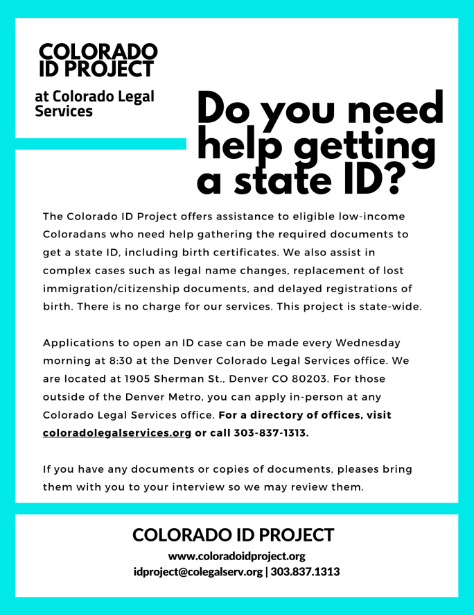 ID Project Flyer - All offices